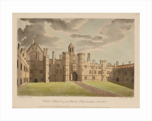 Base Court, Hampton Court Palace by Francis Jukes