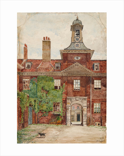 Clock Court, Kensington Palace, 1896 by E L Redgrave