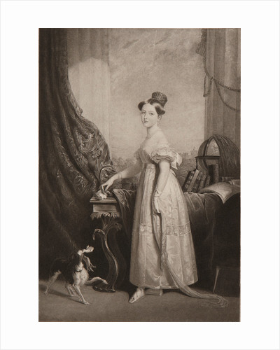 Princess Victoria, c1833 by Unknown