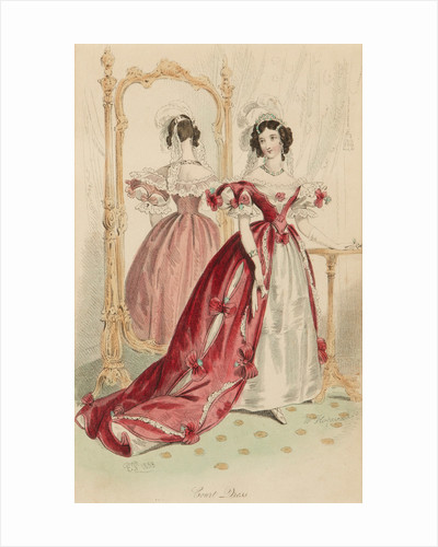 Court dress, 1833 by W Hopwood
