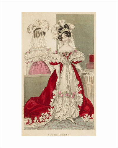 Court dress, c1831 by S Robinson
