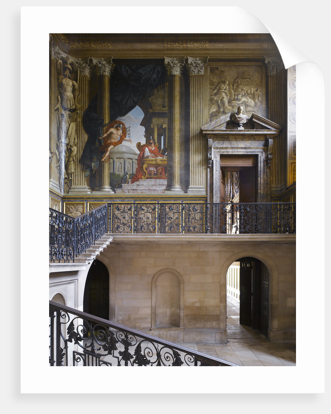 The King's Staircase, Hampton Court Palace by James Brittain