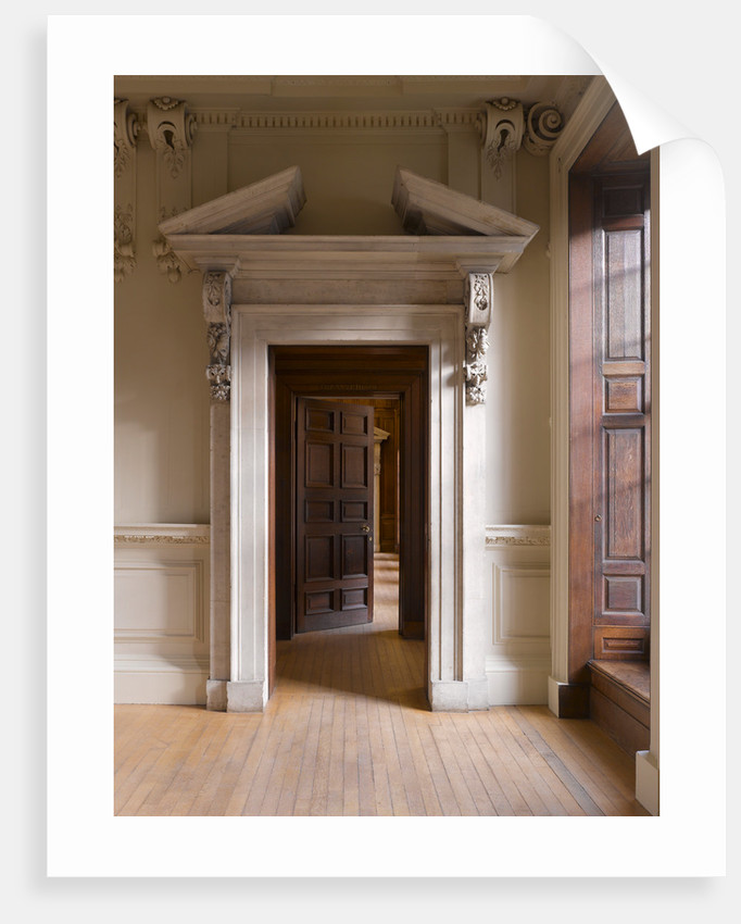 The Queen's Guard Chamber, Hampton Court Palace by James Brittain