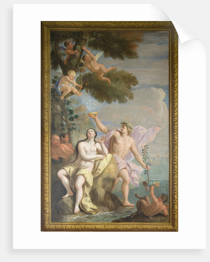 Bacchus and Ariadne, the Banqueting House, Hampton Court Palace by Antonio Verrio