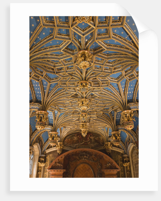 The Chapel Royal ceiling, Hampton Court Palace by James Brittain