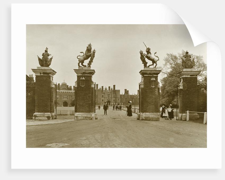 Trophy Gate, Hampton Court Palace by Walter L Bourke