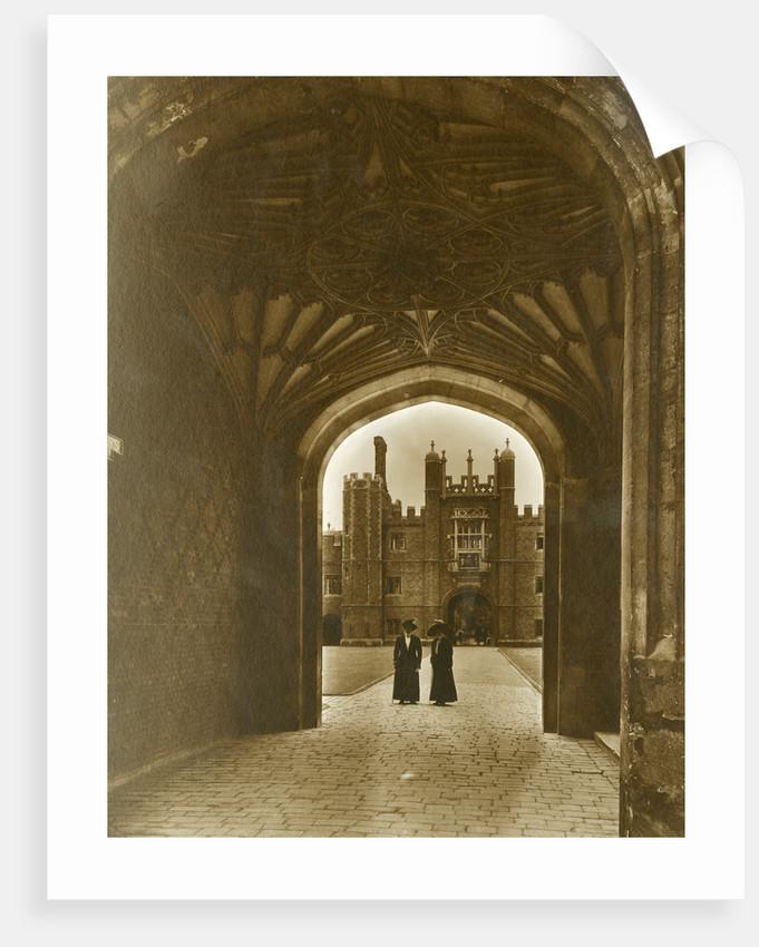 Anne Boleyn's Gateway, Hampton Court Palace by Walter L Bourke