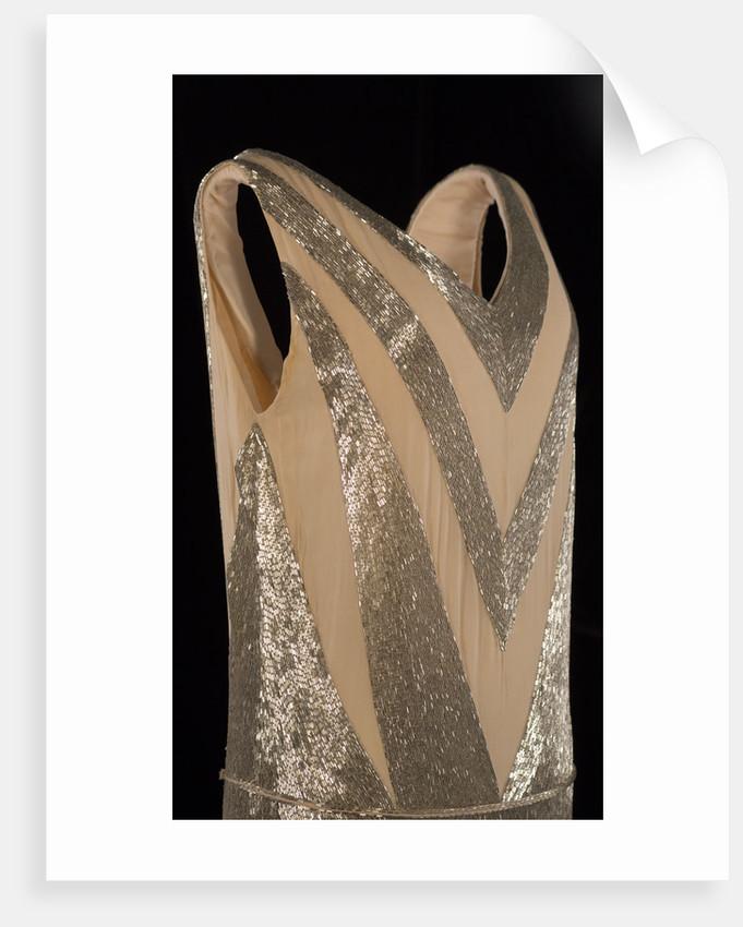Jeanne Lanvin court dress, 1920 by Unknown