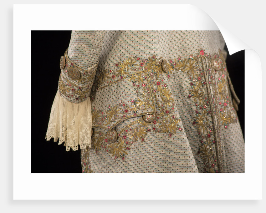 Gentleman's court coat, c1760-90 by Unknown
