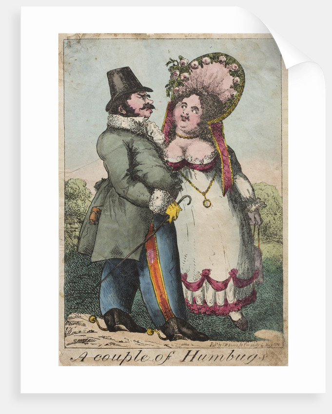 A couple of Humbugs, 1818 by Unknown