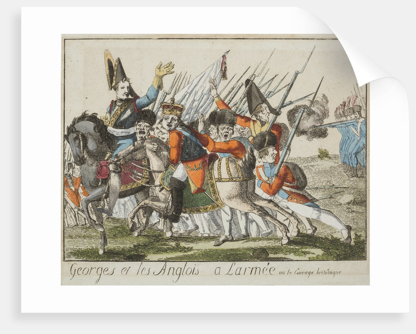 Georges et les Anglo a larmee, c1803-4 by Unknown