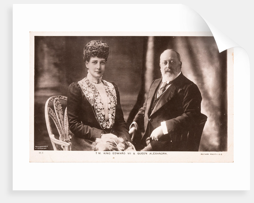 King Edward VII and Queen Alexandra, c1902 by Unknown