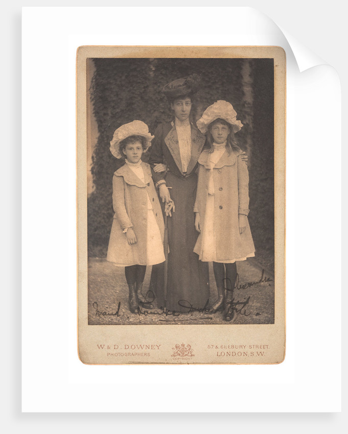 Louise, Princess Royal and Duchess of Fife and her daughters, c1900 by Unknown