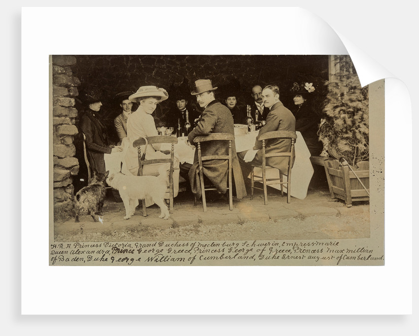 A royal lunch party, c1900 by Unknown