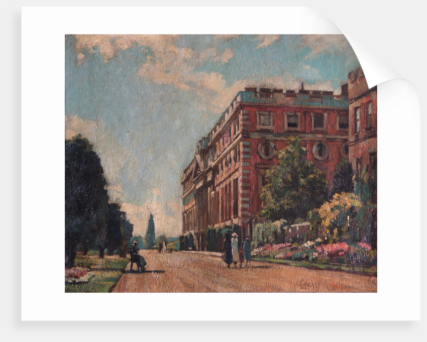 The East Front, Hampton Court Palace by Unknown