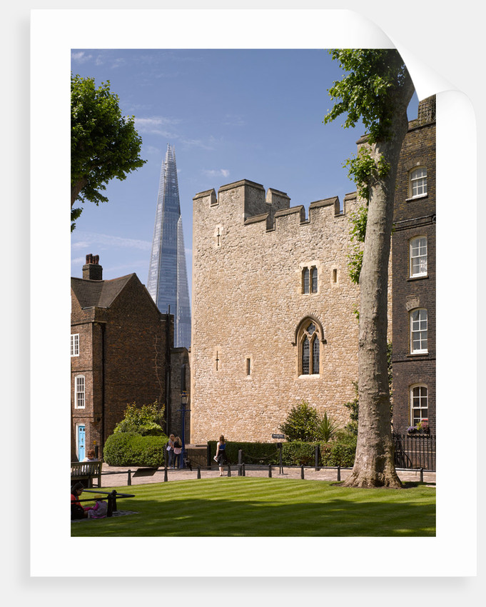 The Tower of London and the Shard by James Brittain