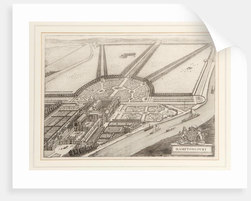 Hampton Court Palace, 1707 by Johannes Kip