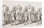 James II coronation procession by Francis Sandford