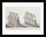 James II coronation procession by Francis Sandford