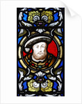 Henry VIII stained-glass window, Hampton Court Palace by James Brittain