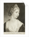 Augusta, Princess of Wales by James McArdell