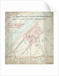 Kew Palace boundary plan by Unknown