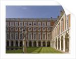 Fountain Court, Hampton Court Palace by James Brittain
