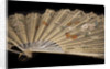 Hand-painted fan, c1870-90 by Unknown