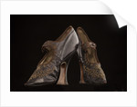 A pair of lady's court shoes, c1895-1900 by Unknown