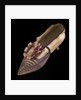 Lady's court shoe with rosette, c1790s by Unknown