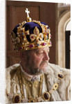 Live interpreter in the role of King Henry VIII by Robin Forster