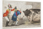A Visit to the Irish Pig!! With reflections Physical & Moral, 1799 by Isaac Cruikshank