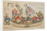 A block for the wigs - or, the new state whirligig, 1783 by James Gillray