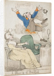 A Blow-up at Breakfast! 1792 by Richard Newton