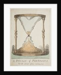 A Puzzle of Portraits, Or the Hour Glass exhausted, 1794 by Isaac Cruikshank