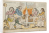 Dressing the Minister, Alias Roasting the Guinea Pig, 1795 by Unknown