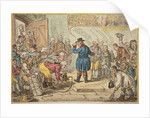 An Old English Gentleman pester'd by Servants wanting Places, 1809 by Unknown