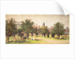 Hampton Court gardens, c1910 by Unknown