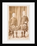 Edward, Prince of Wales and Prince Albert, c1906 by Unknown