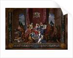 The Queen's Drawing Room, Hampton Court Palace by Antonio Verrio
