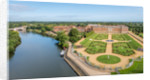 Hampton Court Palace from the south by Unknown
