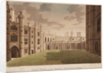 Clock Court, Hampton Court Palace by Francis Jukes