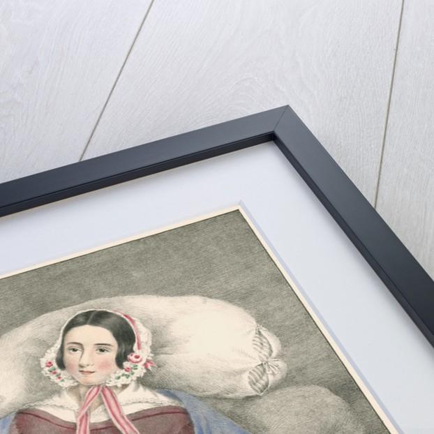 Portrait of Elizabeth Powis showing a leg amputation by Leonard