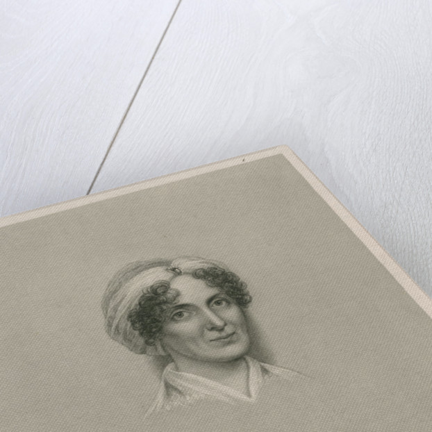 Portrait of Mary Bowditch (1781-1834) by G F Storm