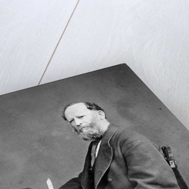 Portrait of William Yolland (1810-1885) by Maull & Fox
