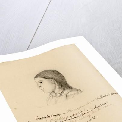 Portrait of Cumántiara by Richard Spruce