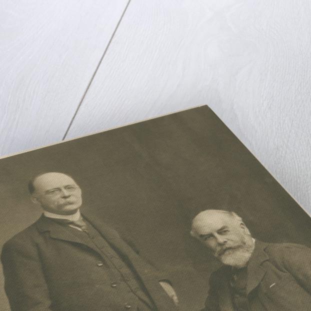 Portrait of Henry John Elwes and Augustine Henry by Elliott