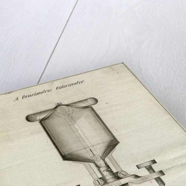 Gravimetric calorimeter by John Joly