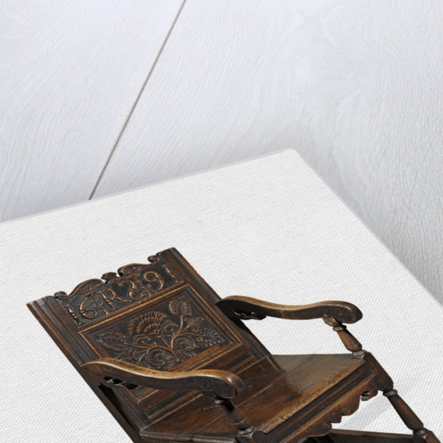 Robert Southwell's chair by unknown