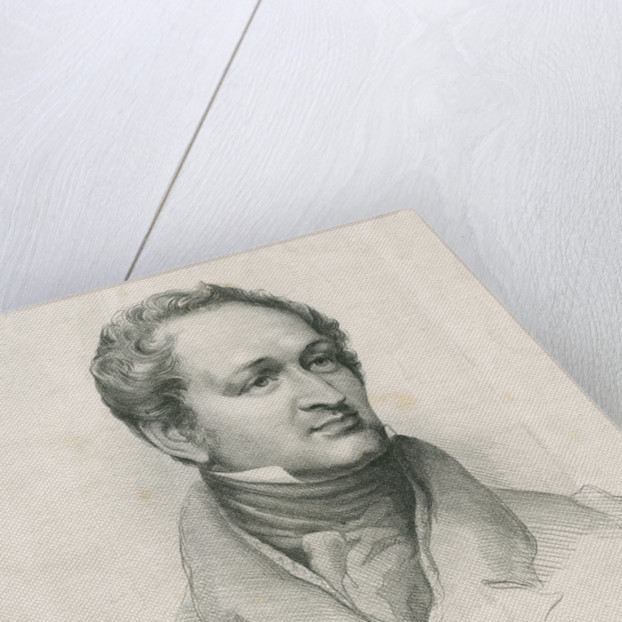 Portrait of Henry Hallam (1777-1859) by Graf & Soret